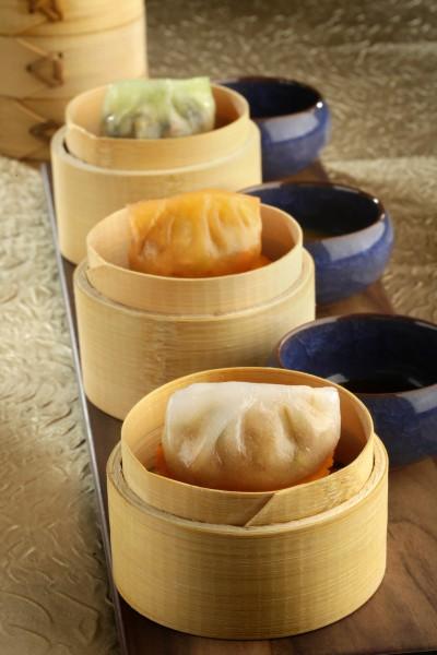 Chiu Chow Dumplings in three styles
