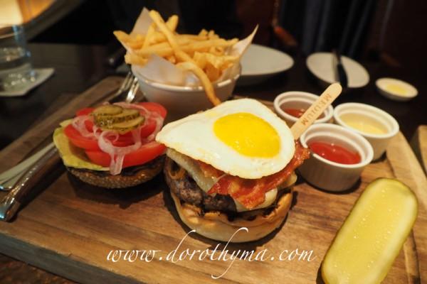 USDA頂級牛肉漢堡 $220